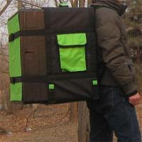 Quality Insulated pizza delivery box with backpack for sale