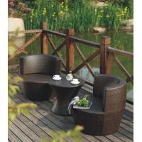 China Round Rattan Table and Chair Set on sale