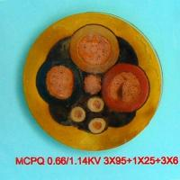 Quality Power Cable  MVPQ 0.66/1.14KV 3 95+1 25 +3 6 for sale