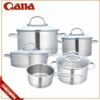 Quality Induction Stainless steel handle cookware pots for sale