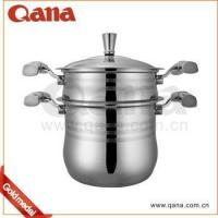 Europe style steamer Stainless steel Couscous Pot