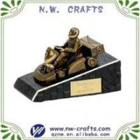 Quality Fashion custom racing sport trophy for sale