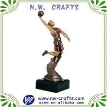 Buy Custom basketball resin trophy figures at wholesale prices