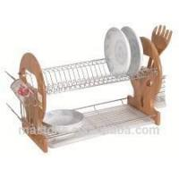 Quality 2 Tier metal dish drying rack for sale