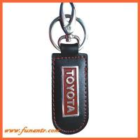 Quality PK-044Fashion Leather Keyring for sale