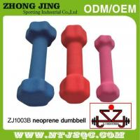 Buy cheap Adjustable gym weightlifting cast iron hex vinyl dipping dumbbell from Wholesalers