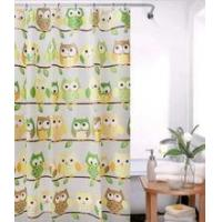 New style owl peva shower curtain with hook 180*180cm