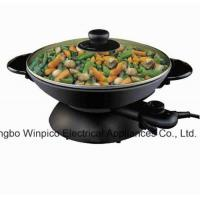 Quality Wok Electric Woks and Stir Fry Pans, 2-in-1 for sale