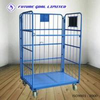 Quality Folding Roll Container / Logistics Cargo Trolley / Warehouse Trolley for sale