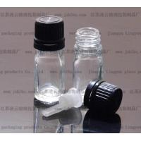 Quality 5ml transparent Essential oil bottle5ml transparent glass bottles for sale