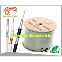 Quality 75ohm RG6 Coaxial Cable CCS/60% Coverage 1000FT for sale