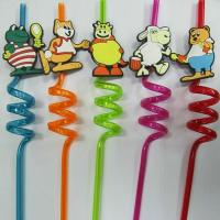 Buy cheap art plastic straw from Wholesalers