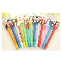 Quality OF122 Handmade cartoon polymer clay ballpoint pen for sale