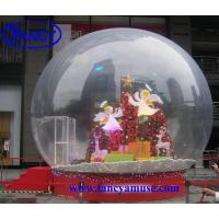 Quality Christmas Decoration Inflatable Snow Globe for sale