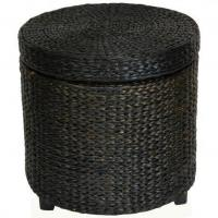 Quality Rush Grass Storage Footstool for sale