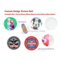 Quality RUBBER BOUNCY BALL Picture bouncing ball for sale
