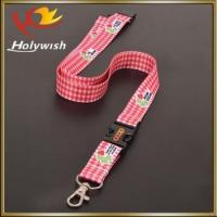 China Cheap Custom Polyester Heat Transfer Printed Lanyard no Minimum Order on sale