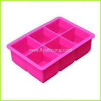 Quality Wholesale 6-Cavity Silicone Ice Cube Tray FYJ-046 for sale