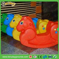 Quality Classic Horse Shape Plastic Rider Rocking Toy for sale