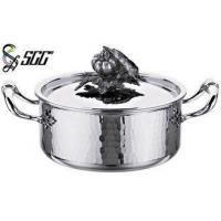 Buy cheap 18*9CM / 20*10CM Round TriPly Cookware For Star Hotels / Restaurants / Canteen from Wholesalers