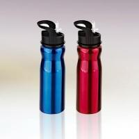 Buy cheap 750ml single wall stainless steel water bottle with straw drinking mouth C011054 from Wholesalers
