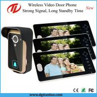 China 7inch Wireless Intercom Doorbell with 3 Monitors Number: TL-A700A on sale