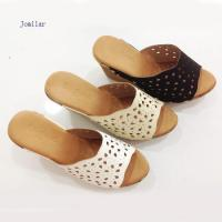 Buy cheap Lady high platform slipper Item:2014717155152 from wholesalers