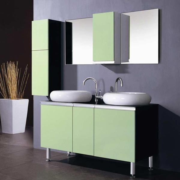 Unique  Vanity Cheap Wooden Cabinet MB210  China Bathroom Vanities For Sale