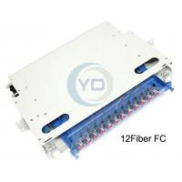 Quality 144/96/72/48/24/12Core/Fiber ODF 19inch rack mount cassette module with splice tray for sale