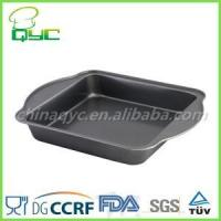 Quality Non-stick Carbon Steel Square Cake Pan for sale