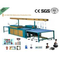 Easy operation pvc luggage label making machine