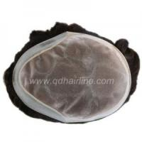 Quality Stock Hair Systems Fine Mono with PU around for sale
