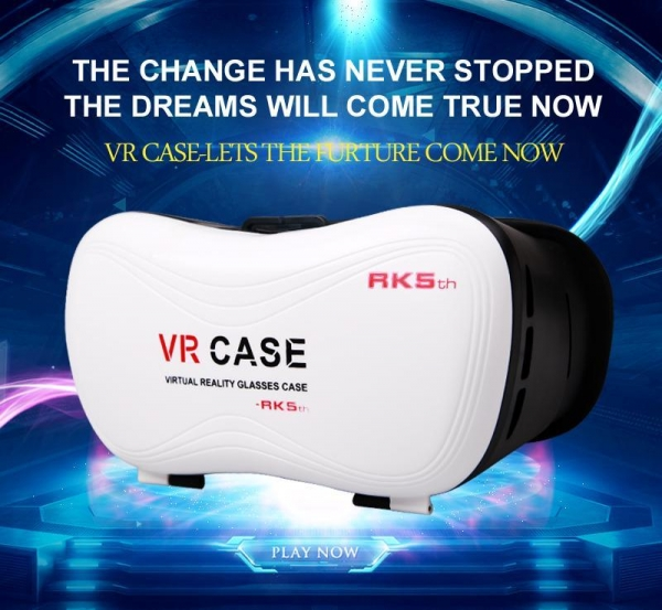 China VR CASE VR box Bluetooth gamepad VR box Bluetooth gamepad