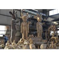China bronze contemporary art sculpture, large morden art sculpture fabrication on sale