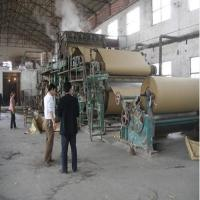 Quality 2400mm Multi Cylinder Multi Wire Grey Board Paper Making Machine for sale