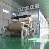 Quality 2750mm Double Fourdrinier Wire Kraft Paper/Liner Paper Production Line for sale