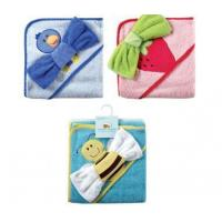 Buy cheap Bath Fancy Hooded Towel &Washcloths -Woven Terry from Wholesalers