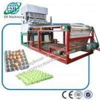Quality 8 Platens Professional Chicken Egg Trays Machine for Egg Carton SHZ-3600 Factory Supplier for sale