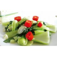 Quality Sauteed green vegetable with garlic for sale