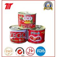 Quality Canned Tomato Paste Canned Tomato Paste-210g for sale