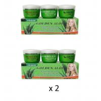 Quality 2 x Feique Golden Aloe Blemish DAY+NIGHT+PEARL Creams for sale