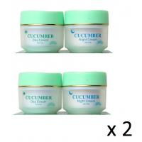 Quality 2 x Feique Cucumber DAY + NIGHT Blemish Creams 20g for sale