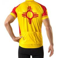 China digital sublimation yellow cycling jersey on sale