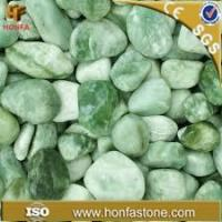 Quality pebble green jade pebbles for sale