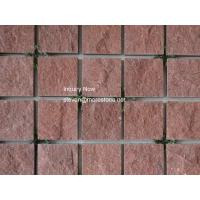 Buy cheap Porphyry Red Granite Paving Stone from Wholesalers