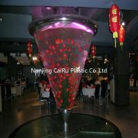 Buy cheap Cone acrylic fish tank from Wholesalers