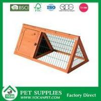 Quality wholesale Cheap wooden Rabbit Hutch for sale