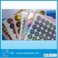 Customize Tamper Evident Holographic Stickers