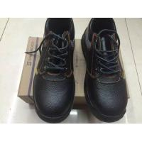 Quality low cut cow leather safety shoes for sale