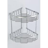 Buy cheap Two Tiers Brass Bath Corner Basket from wholesalers